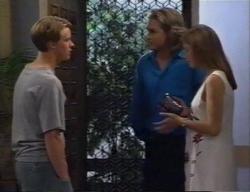 Billy Kennedy, Justin Black, Anne Wilkinson in Neighbours Episode 2795