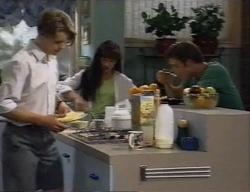 Billy Kennedy, Susan Kennedy, Malcolm Kennedy in Neighbours Episode 2795