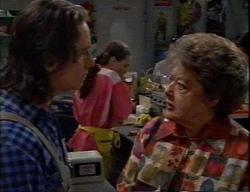 Darren Stark, Debbie Martin, Marlene Kratz in Neighbours Episode 2796