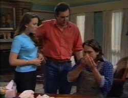Libby Kennedy, Karl Kennedy, Darren Stark in Neighbours Episode 2796