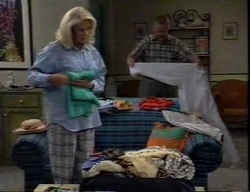 Madge Bishop, Harold Bishop in Neighbours Episode 2797