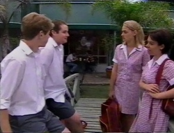 Lance Wilkinson, Toadie Rebecchi, Kelly, Vicky in Neighbours Episode 2797