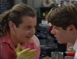 Toadie Rebecchi, Lance Wilkinson in Neighbours Episode 2797