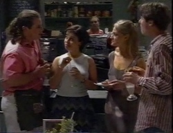 Toadie Rebecchi, Vicky, Debbie Martin, Kelly, Lance Wilkinson in Neighbours Episode 2797