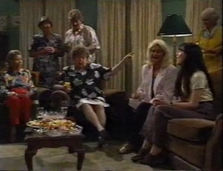 Helen Daniels, Marlene Kratz, Madge Bishop, Susan Kennedy in Neighbours Episode 2798