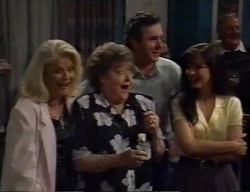 Madge Bishop, Marlene Kratz, Karl Kennedy, Susan Kennedy in Neighbours Episode 2798