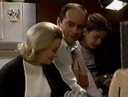 Helen Daniels, Philip Martin, Hannah Martin in Neighbours Episode 2799