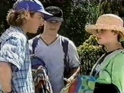 Justin Black, Billy Kennedy, Anne Wilkinson in Neighbours Episode 2799