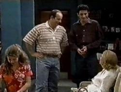 Hannah Martin, Philip Martin, Tim Buckley, Helen Daniels in Neighbours Episode 2799