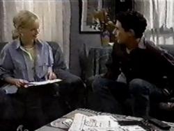 Lisa Elliot, Tim Buckley in Neighbours Episode 2799