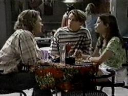 Justin Black, Billy Kennedy, Anne Wilkinson in Neighbours Episode 2800