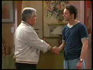 Lou Carpenter, Ben Atkins in Neighbours Episode 2906