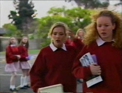 Amy Greenwood, Jacinta Myers in Neighbours Episode 2968
