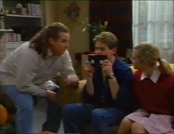 Toadie Rebecchi, Lance Wilkinson, Amy Greenwood in Neighbours Episode 2968