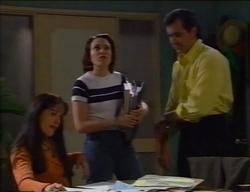 Susan Kennedy, Libby Kennedy, Karl Kennedy in Neighbours Episode 2968