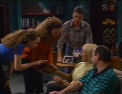 Debbie Martin, Hannah Martin, Michael Martin, Rosemary Daniels, Philip Martin in Neighbours Episode 2968