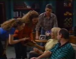 Debbie Martin, Hannah Martin, Michael Martin, Rosemary Daniels, Philip Martin in Neighbours Episode 2968