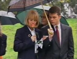 Rosemary Daniels, Philip Martin, Michael Martin in Neighbours Episode 2968