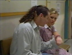 Toadie Rebecchi, Amy Greenwood in Neighbours Episode 2968