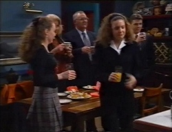 Debbie Martin, Madge Bishop, Harold Bishop, Hannah Martin, Michael Martin in Neighbours Episode 2968