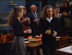 Debbie Martin, Madge Bishop, Harold Bishop, Hannah Martin, Michael Martin in Neighbours Episode 2968
