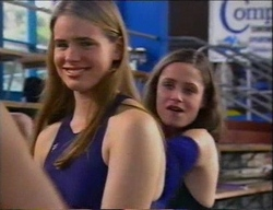 Mandi Rodgers, Caitlin Atkins in Neighbours Episode 2970