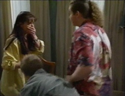 Susan Kennedy, Lance Wilkinson, Toadie Rebecchi in Neighbours Episode 2971