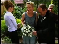 Hannah Martin, Ruth Wilkinson, Philip Martin, Lou Carpenter in Neighbours Episode 3110