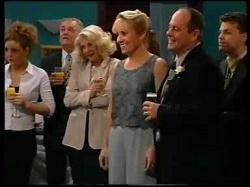 Hannah Martin, Harold Bishop, Madge Bishop, Ruth Wilkinson, Philip Martin, Michael Martin in Neighbours Episode 3110