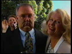 Lance Wilkinson, Harold Bishop, Madge Bishop in Neighbours Episode 3110