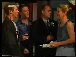 Lance Wilkinson, Ben Atkins, Philip Martin, Ruth Wilkinson in Neighbours Episode 3110