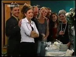 Michael Martin, Hannah Martin, Philip Martin, Ruth Wilkinson, Ben Atkins, Anne Wilkinson in Neighbours Episode 3110