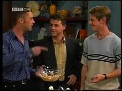 Ben Atkins, Michael Martin, Lance Wilkinson in Neighbours Episode 3110