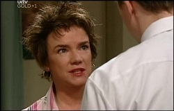 Lyn Scully, Andy Tanner in Neighbours Episode 4691