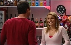 Karl Kennedy, Izzy Hoyland in Neighbours Episode 4691