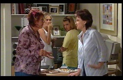 Angie Rebecchi, Janae Timmins, Bree Timmins, Lyn Scully in Neighbours Episode 4978