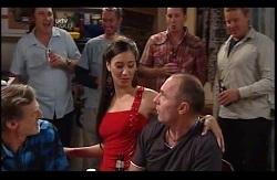 Kevin Rebecchi, Miss Nova, Kim Timmins in Neighbours Episode 4978