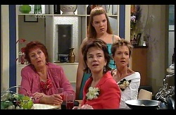 Angie Rebecchi, Lyn Scully, Bree Timmins, Susan Kennedy in Neighbours Episode 4978