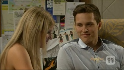 Amber Turner, Josh Willis in Neighbours Episode 7071