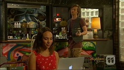 Imogen Willis, Daniel Robinson in Neighbours Episode 7071