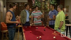 Tyler Brennan, Mark Brennan, Chris Pappas, Nate Kinski, Toadie Rebecchi in Neighbours Episode 7072