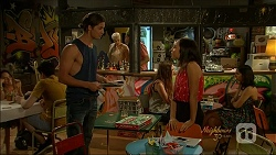 Tyler Brennan, Imogen Willis in Neighbours Episode 7072