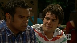 Nate Kinski, Chris Pappas in Neighbours Episode 7072
