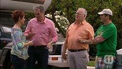 Susan Kennedy, Karl Kennedy, Harold Bishop, Toadie Rebecchi in Neighbours Episode 7073