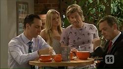 Nick Petrides, Amber Turner, Daniel Robinson, Paul Robinson in Neighbours Episode 7073