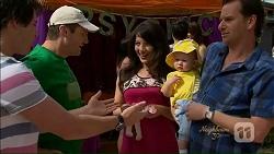 Chris Pappas, Toadie Rebecchi, Vanessa Villante, Sebastiana Fitzgerald, Lucas Fitzgerald in Neighbours Episode 7073