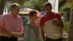 Karl Kennedy, Susan Kennedy, Nate Kinski in Neighbours Episode 7073