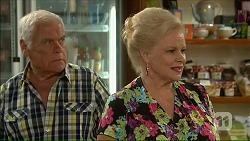 Lou Carpenter, Sheila Canning in Neighbours Episode 7073