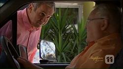 Karl Kennedy, Harold Bishop in Neighbours Episode 7073