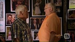 Lou Carpenter, Harold Bishop in Neighbours Episode 7073
